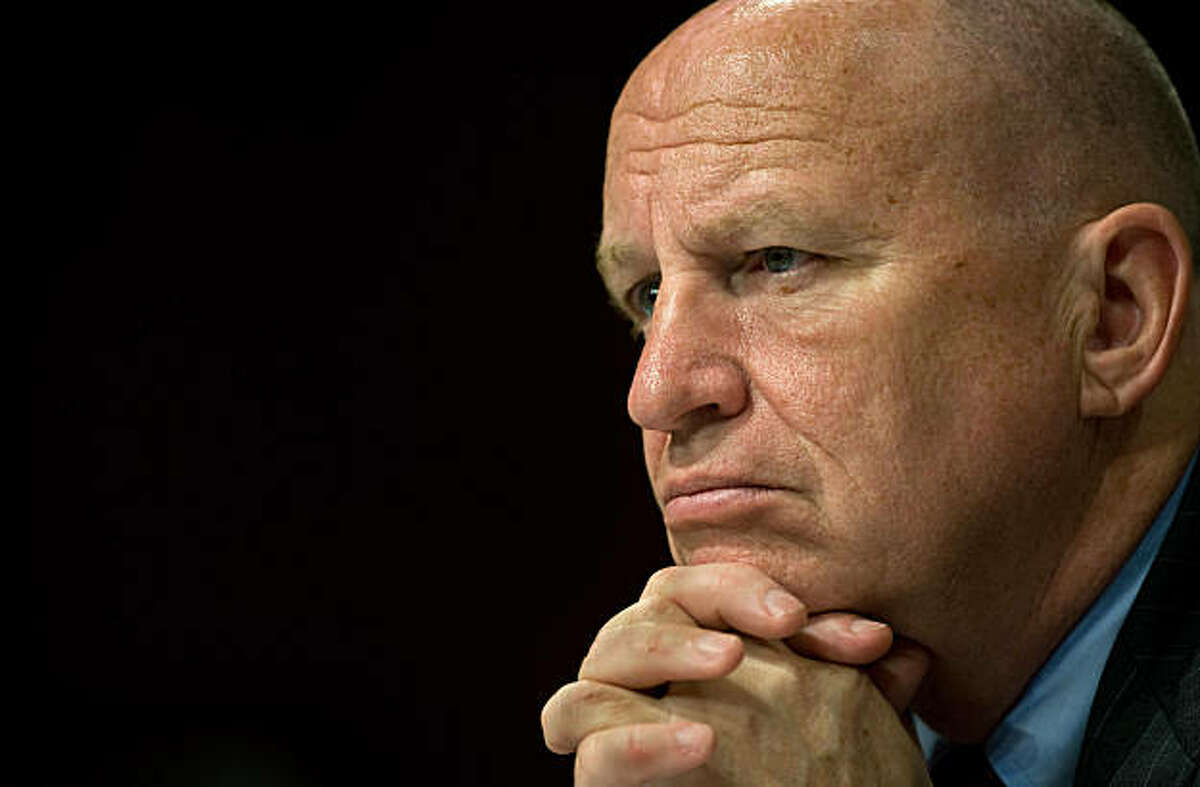 US Rep. Kevin Brady (R-TX) listens as the Chairman of the US Federal Reserve Ben Bernanke delivers testimony before the US Senate Joint Economic Committee on May 5, 2009 on Capitol Hill in Washington.