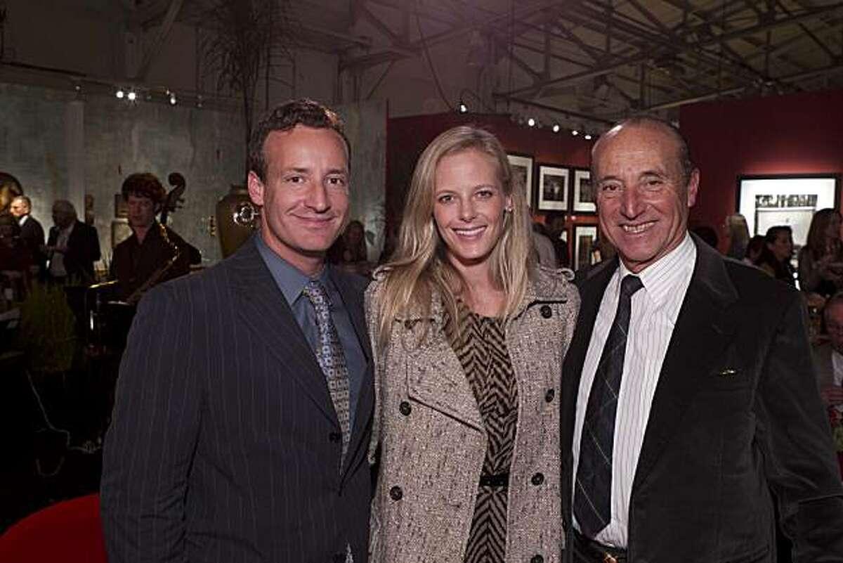 Todd Traina (left), Katie Traina and John Traina