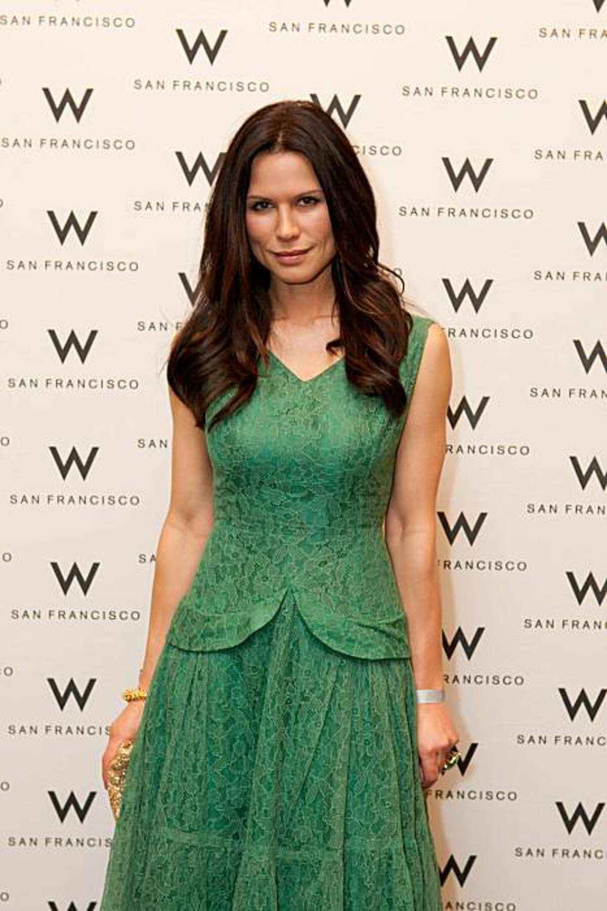 at the Global Green 6th Annual San Francisco Benefit and Eco-Fashion Show, held at the Bently Reserve on Dec. 13, 2010.