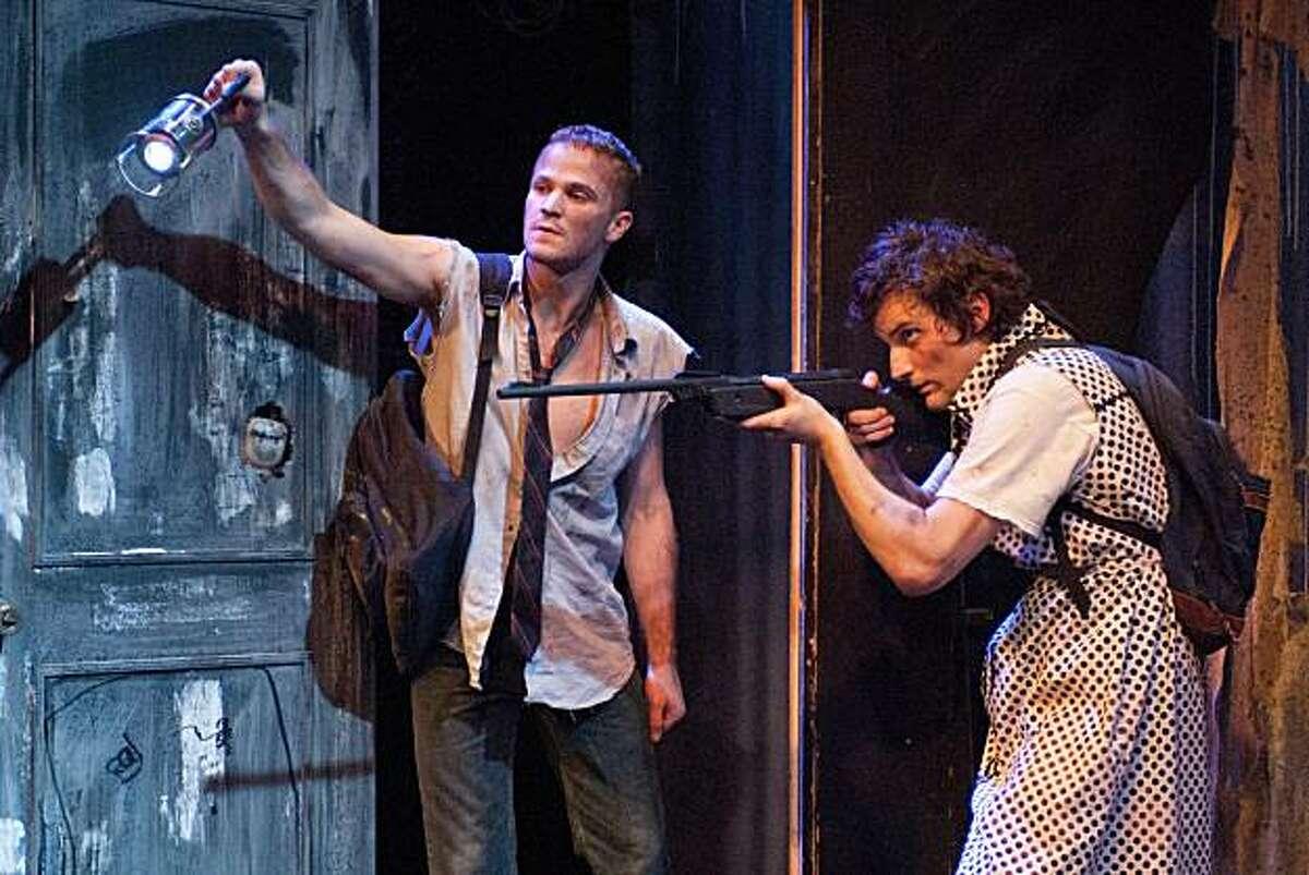 Evan Johnson (left) and Josh Schell in New Conservatory Theatre Center's