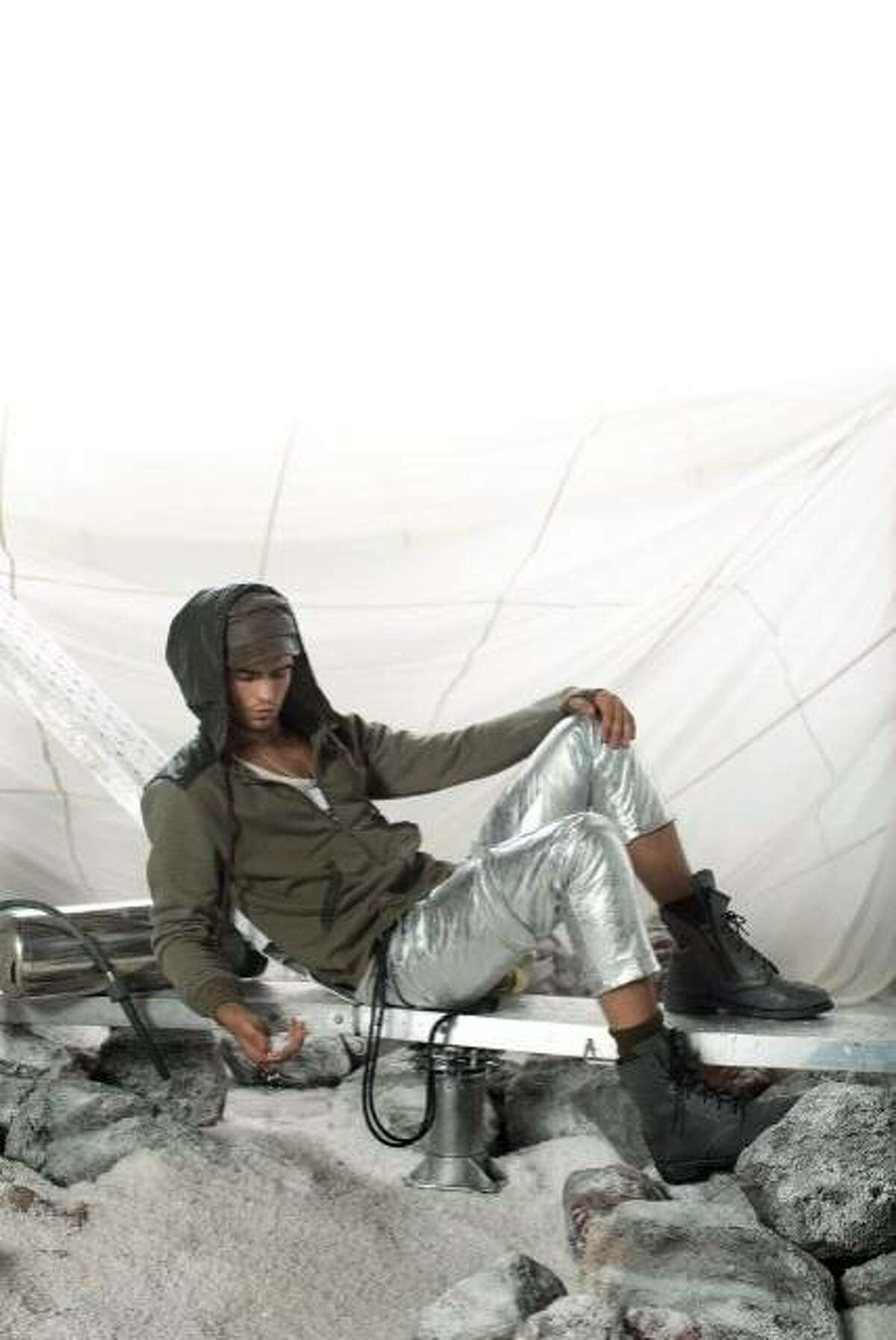 A spring/summer 2011 look by San Francisco line NICE Collective.