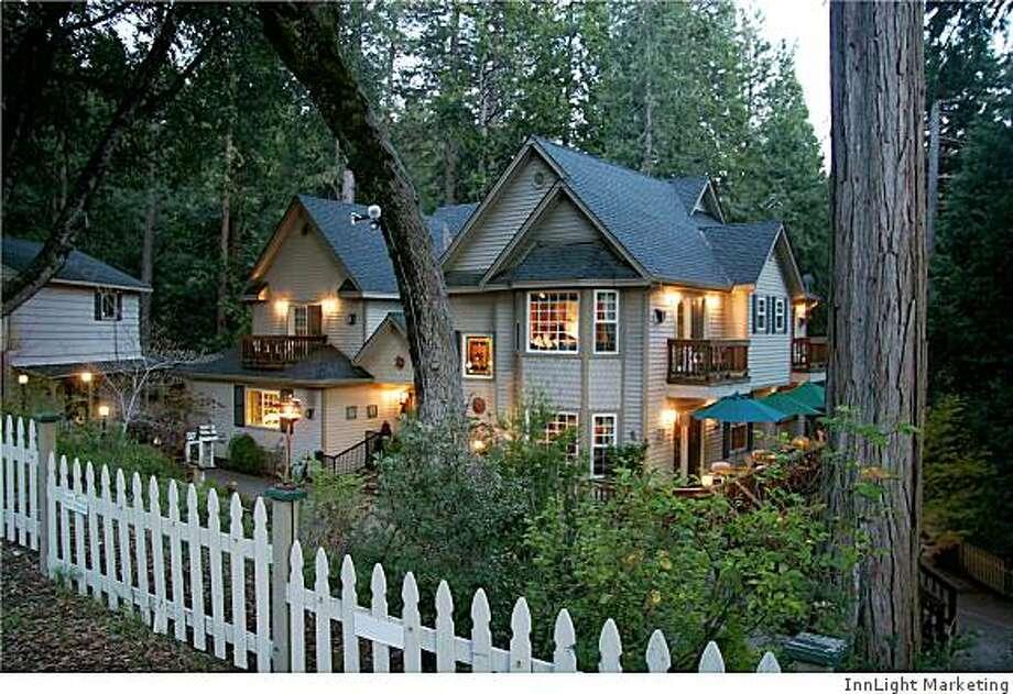 The McCaffrey House in Twain Harte. Photo: InnLight Marketing