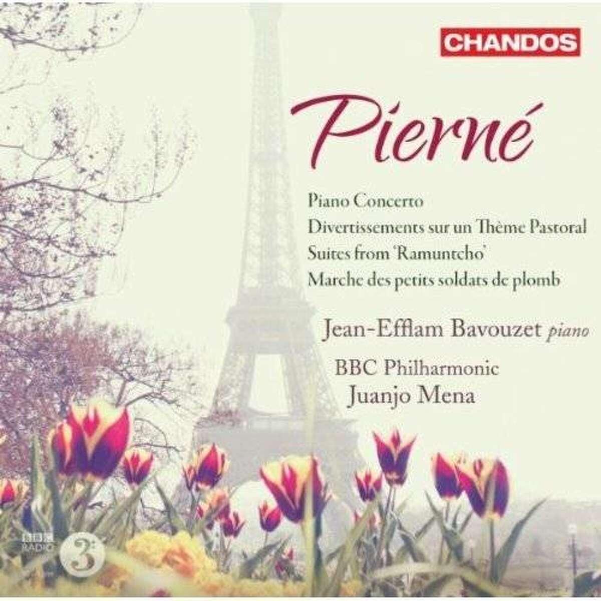 CD cover: Gabriel Pierne