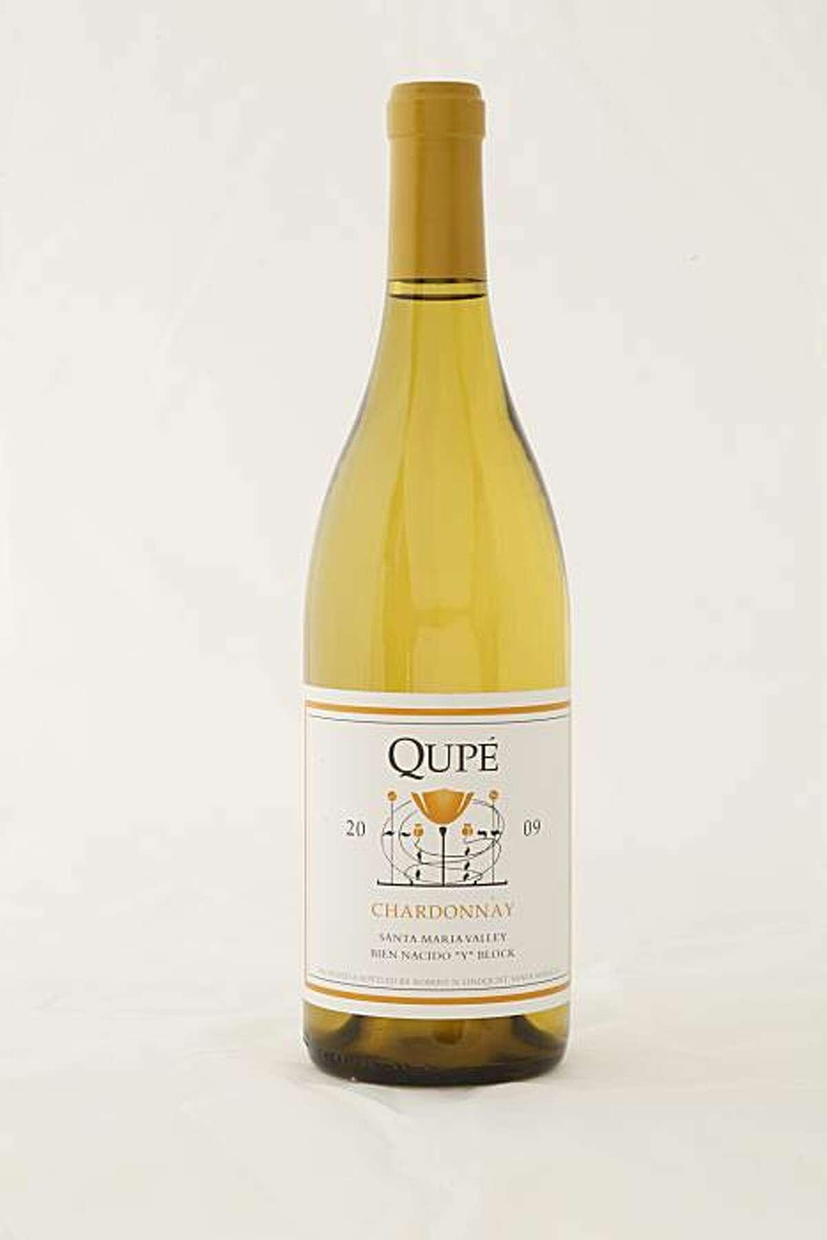 2009 Qupe Chardonnay Santa Maria Valley as seen in San Francisco, California, on January 26, 2010.