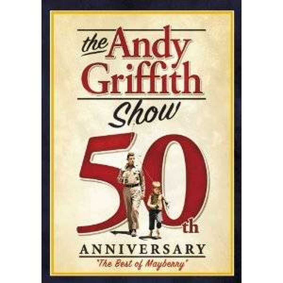 dvd cover THE ANDY GRIFFITH SHOW 50TH ANNIVERSARY: THE BEST OF MAYBERRY