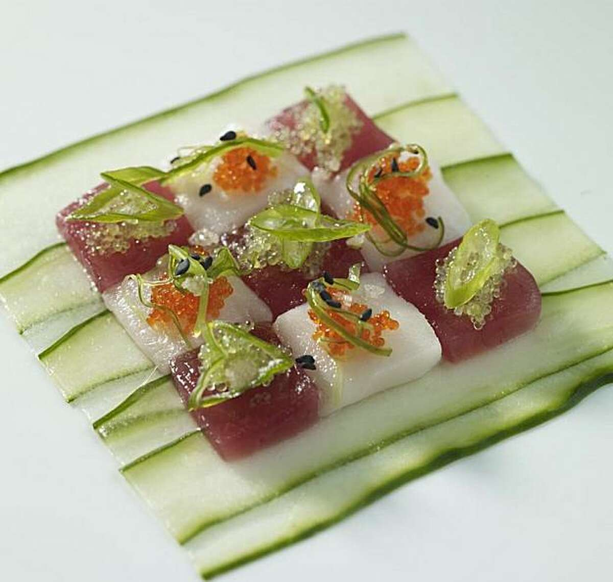 Red Salt's ahi poke takes a unique approach to the classic island dish.