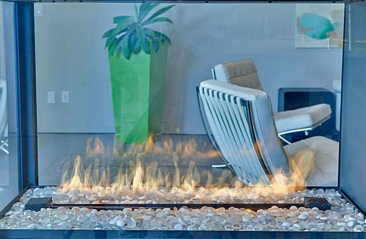 3535 Partition Road fireplace