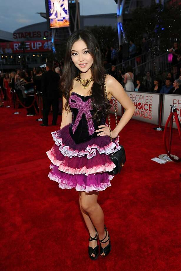 Worst: Courtney Coleman's garish tutu might have been better suited for a Bratz doll. Photo: Michael Buckner, Getty Images For PCA