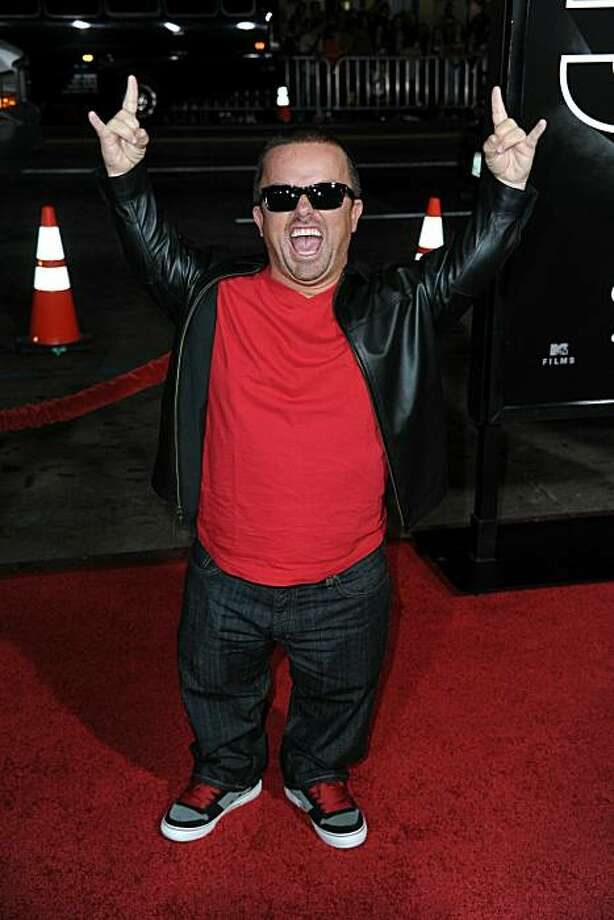 """Actor Jason """"Wee Wan"""" Acunam of """"Jackass"""" fame. Photo: Frazer Harrison, Getty Images"""