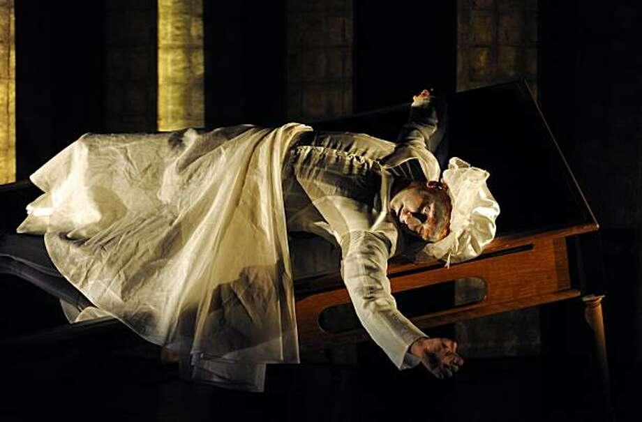 """Director Robert Lepage   in """"Eonnagata."""" Photo: Erick Labbe"""
