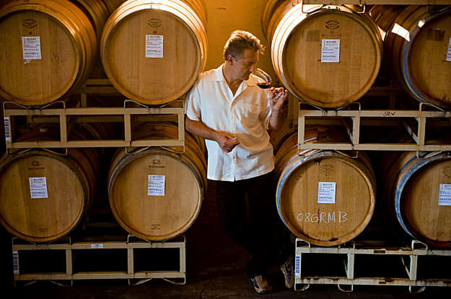 Markus Bokisch at the Bokisch Vineyards in Victor, Ca. Photo: Brian Baer, Special To The Chronicle