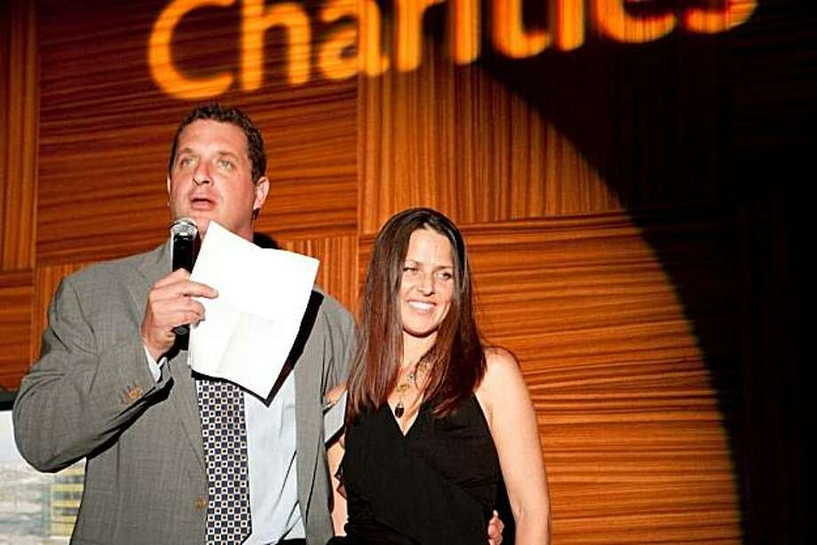 "Champion Charities held their ""Night at the Theatre"" event, which brought together top supporters from the sporting, business, and philanthropy worlds  prior to attending ""The Phantom of the Opera.""  Harris Barton, Megan Barton Photo: Aubrie Pick For Drew Altizer Aub, Special To The Chronicle"