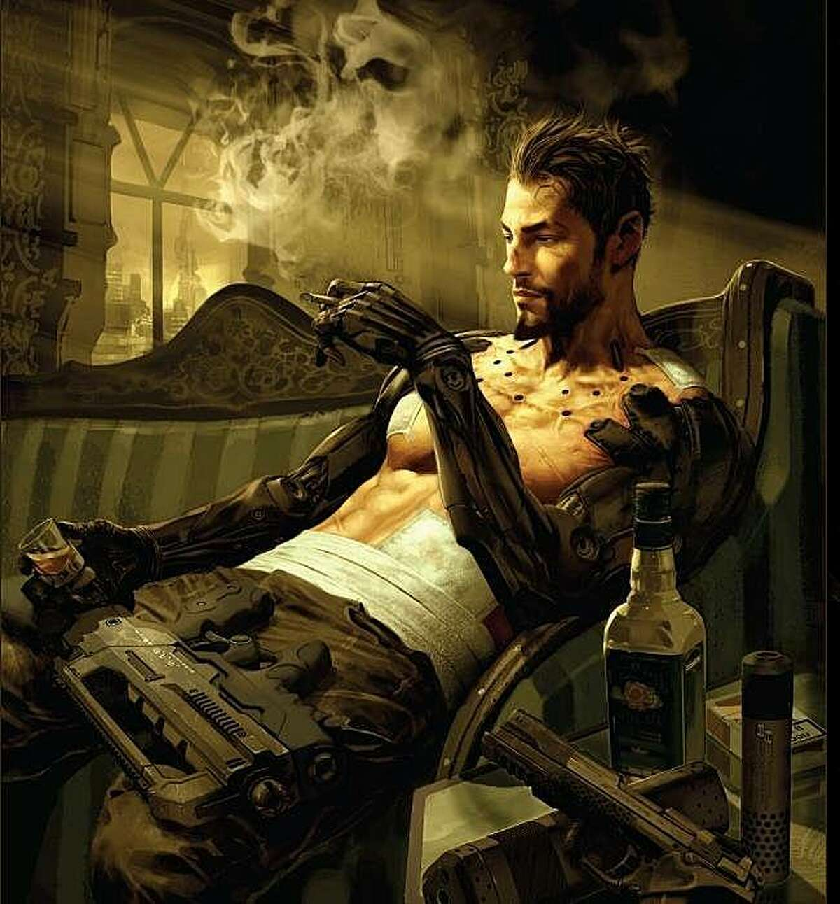 Adam Jensen is the protagonist in Deus Ex: human Revolution, the third game in the series.