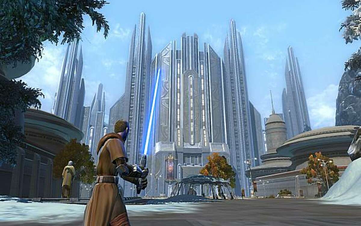 Press images of the forthcoming MMO, Star Wars: The Old Republic from BioWare and Electronic Arts.