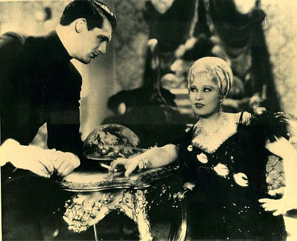 Mae West and Cary Grant in the 1933 movie