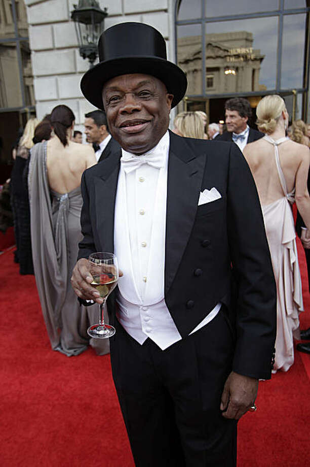 Former Mayor Willie Brown attends the Opera Gala during the opening night of the San Francisco Opera at the War Memorial Building on September 11, 2009 in San Francisco, Calif.  Photograph by David Paul Morris / Special to the Chronicle Photo: David Paul Morris, The Chronicle