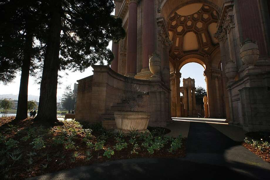 The Palace of Fine Arts in San Francisco, Calif., will soon open to the public  after having had it's $21 million dollar renovation.  A view of the Taube family and friends rotunda on Tuesday, January 4, 2011. Photo: Liz Hafalia, The Chronicle