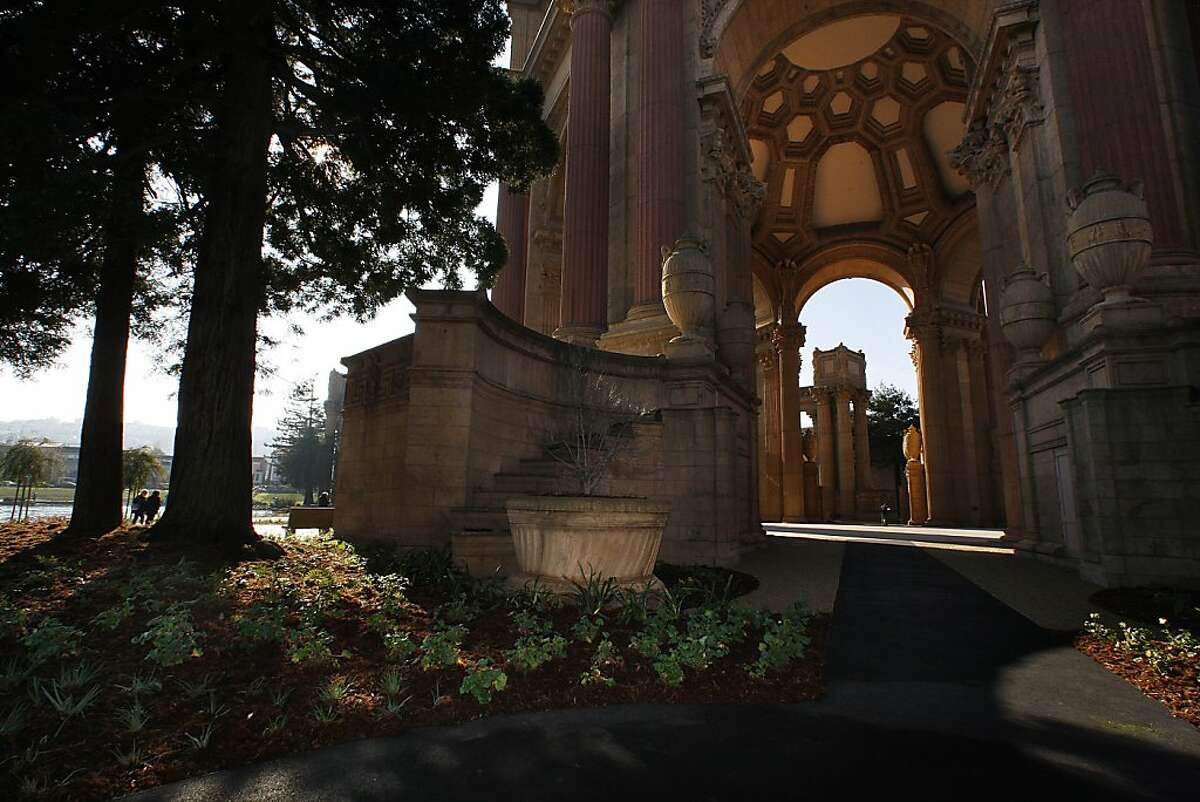 The Palace of Fine Arts in San Francisco, Calif., will soon open to the public after having had it's $21 million dollar renovation. A view of the Taube family and friends rotunda on Tuesday, January 4, 2011.
