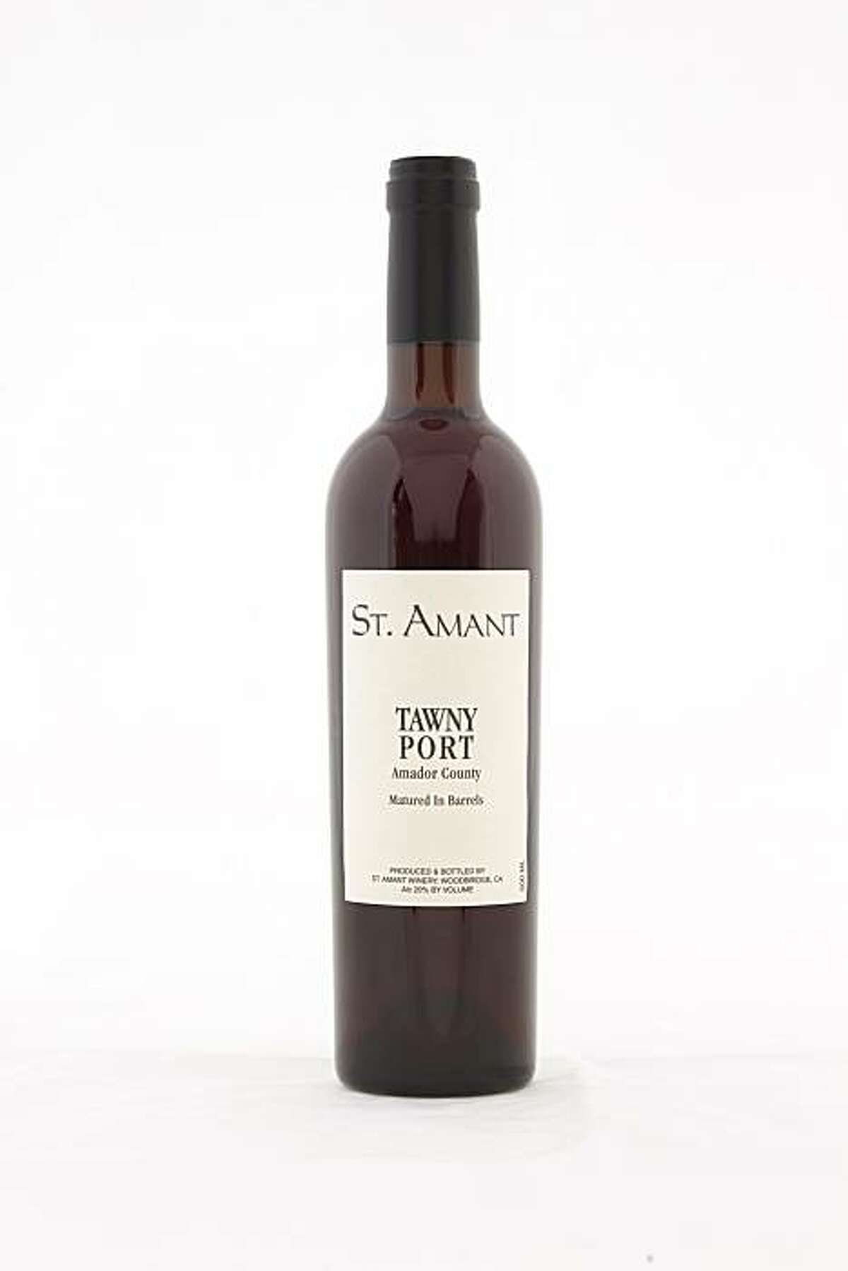 St. Amant Tawny Port Amador County as seen in San Francisco, California, on January 19, 2011.