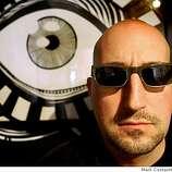 Matt Revelli poses in his gallery, Upper Playground on April 4, 2008 in San Francisco, Calif.