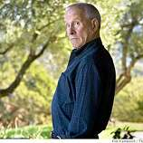 Comedian Tommy Smothers does his Johnny Carson imitation. He is photographed on Friday, Oct. 10, 2008 at his Kenwood, Calif., home.