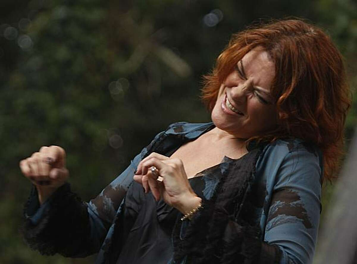 Rosanne Cash at the 10th annual Hardly Strictly Bluegrass Festival in San Francisco's Golden Gate Park on Sunday.