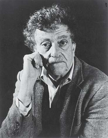 "Kurt Vonnegut, famous author... newest book is titled ""While Mortals Sleep"" Photo: Rosemary Carroll"