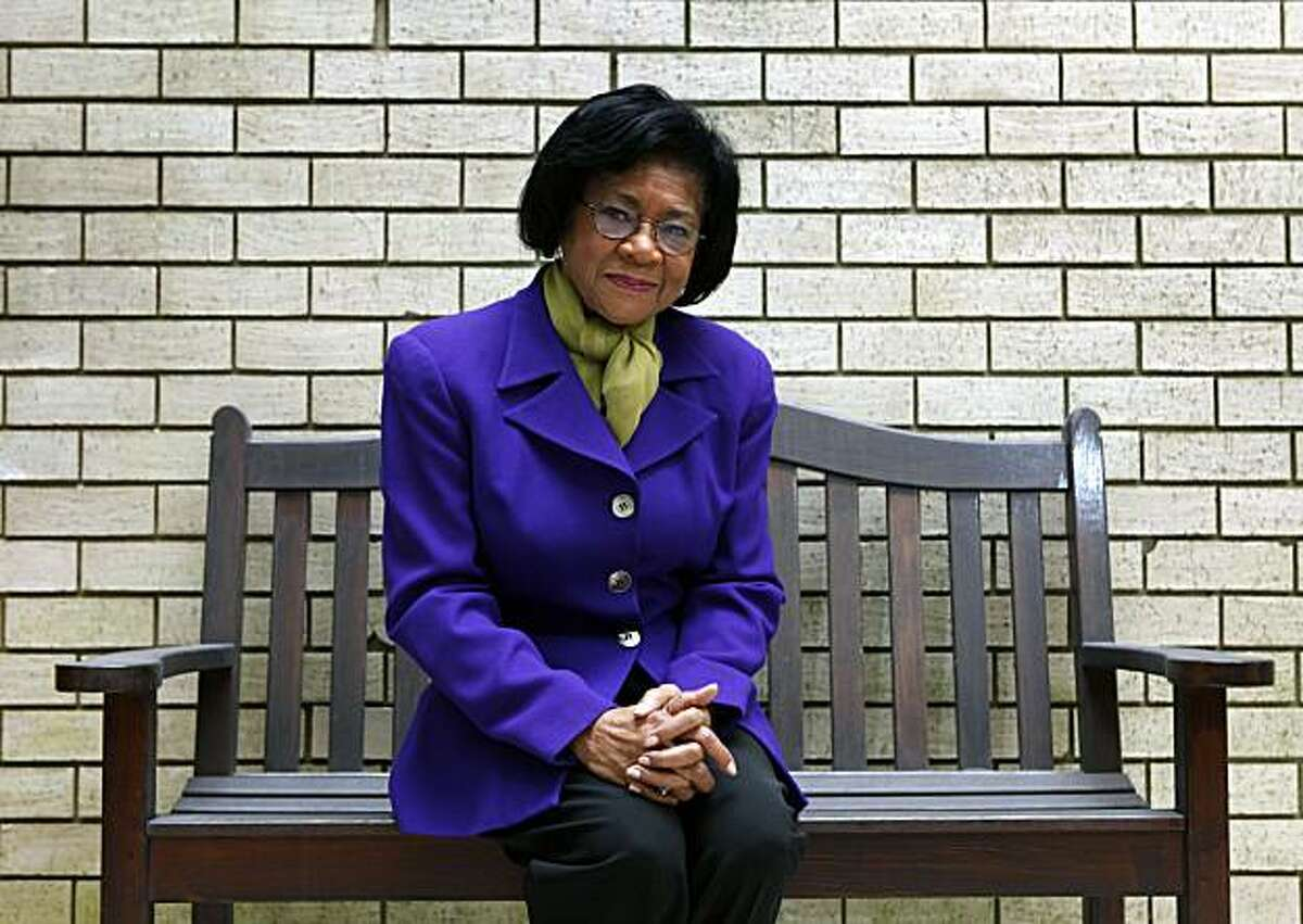Belva Davis, the pioneering journalist who has a new book out called
