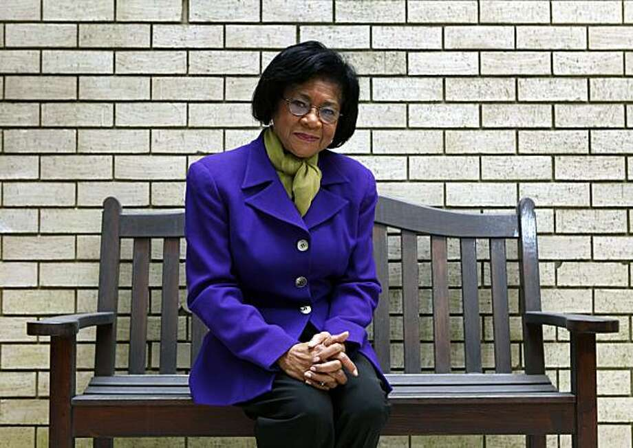 "Belva Davis, the pioneering journalist who has a new book out called ""Never in My Wildest Dreams: A Black Woman's Life in Journalism."" Amazing book about Belva's path from daughter of a 15 year old Louisiana laundress during the Great Depression to become the first black female news anchor on the West Coast. Friday Jan 7, 2011. Photo: Lance Iversen, The Chronicle"