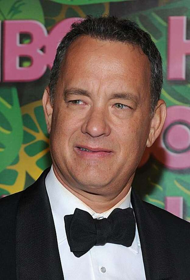 LOS ANGELES, CA - AUGUST 29:  Executive Producer Tom Hanks, winner of the Outstanding Miniseries Award for 'The Pacific', arrives at HBO's Annual Emmy Awards Post Award Reception at The Plaza at the Pacific Design Center on August 29, 2010 in Los Angeles, California.  (Photo by Michael Buckner/Getty Images) *** Local Caption *** Tom Hanks Photo: Michael Buckner