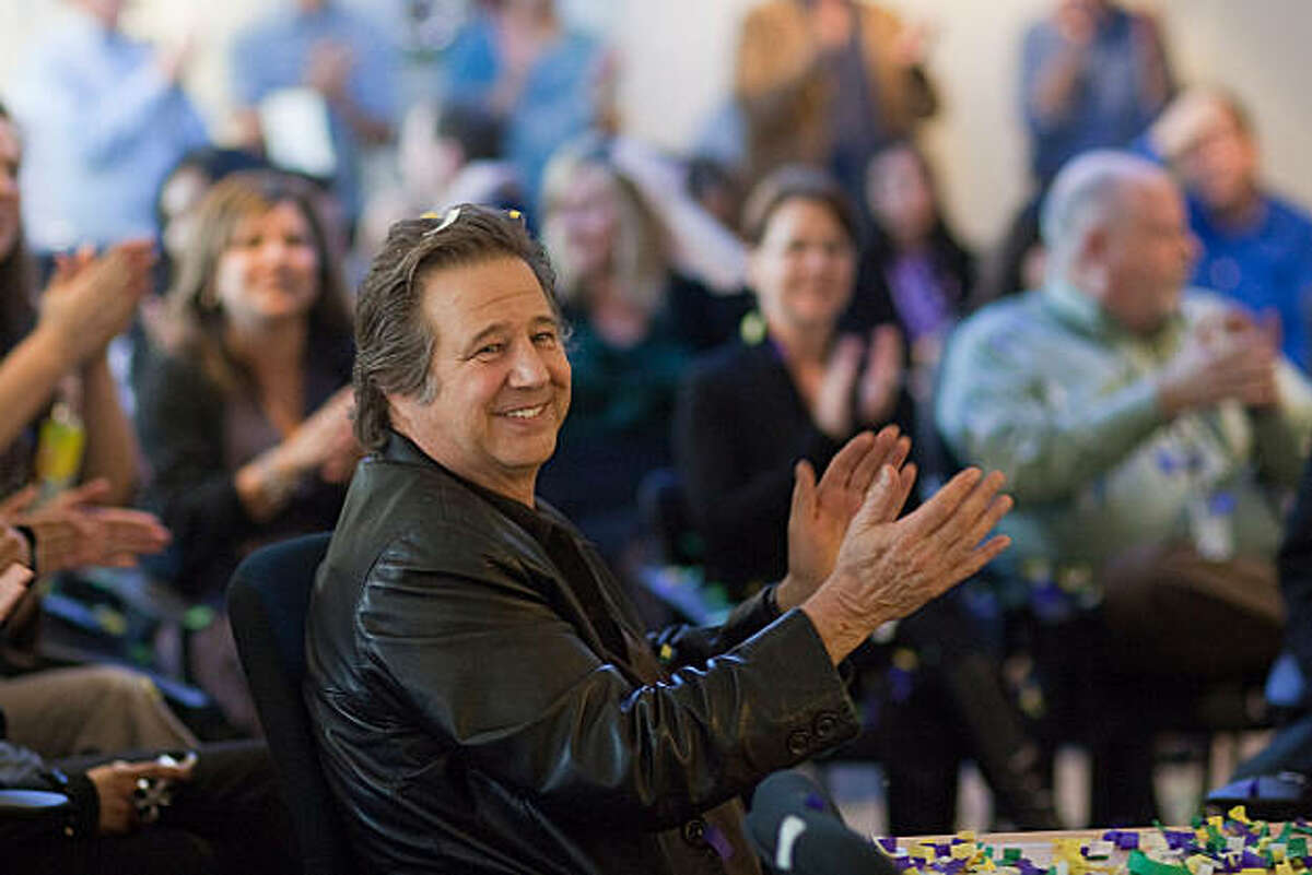 Greg Kihn, the Morning Host speaks during the announcement of the changes at KUFX radio station at the office of Entercom on January 18, 2011 in San Francisco, Calif. Photograph by David Paul Morris/Special to the Chronicle