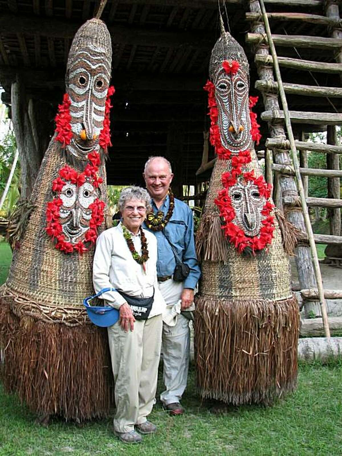 Diana and Dave Butler of El Sobrante in Papua, New Guinea.