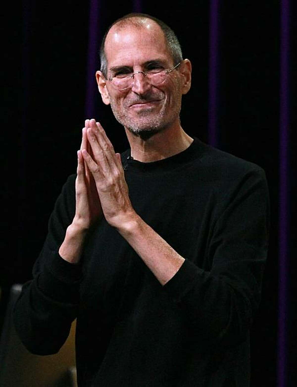 SAN FRANCISCO - SEPTEMBER 01: (FILE PHOTO) Apple CEO Steve Jobs speaks at an Apple Special Event at the Yerba Buena Center for the Arts September 1, 2010 in San Francisco, California. Steve Jobs announced on January 17, 2011 that the Apple board has granted him a medical leave of absence.