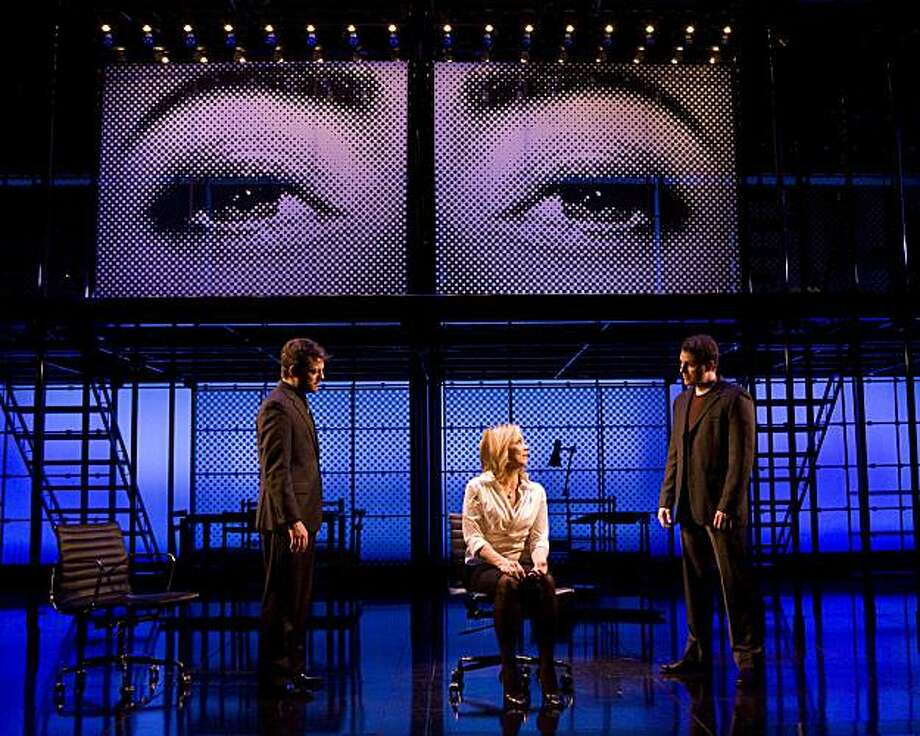 "Jeremy Kushnier, Alice Ripley and Asa Somers in ""next to normal."" Photo: Craig Shwartz"
