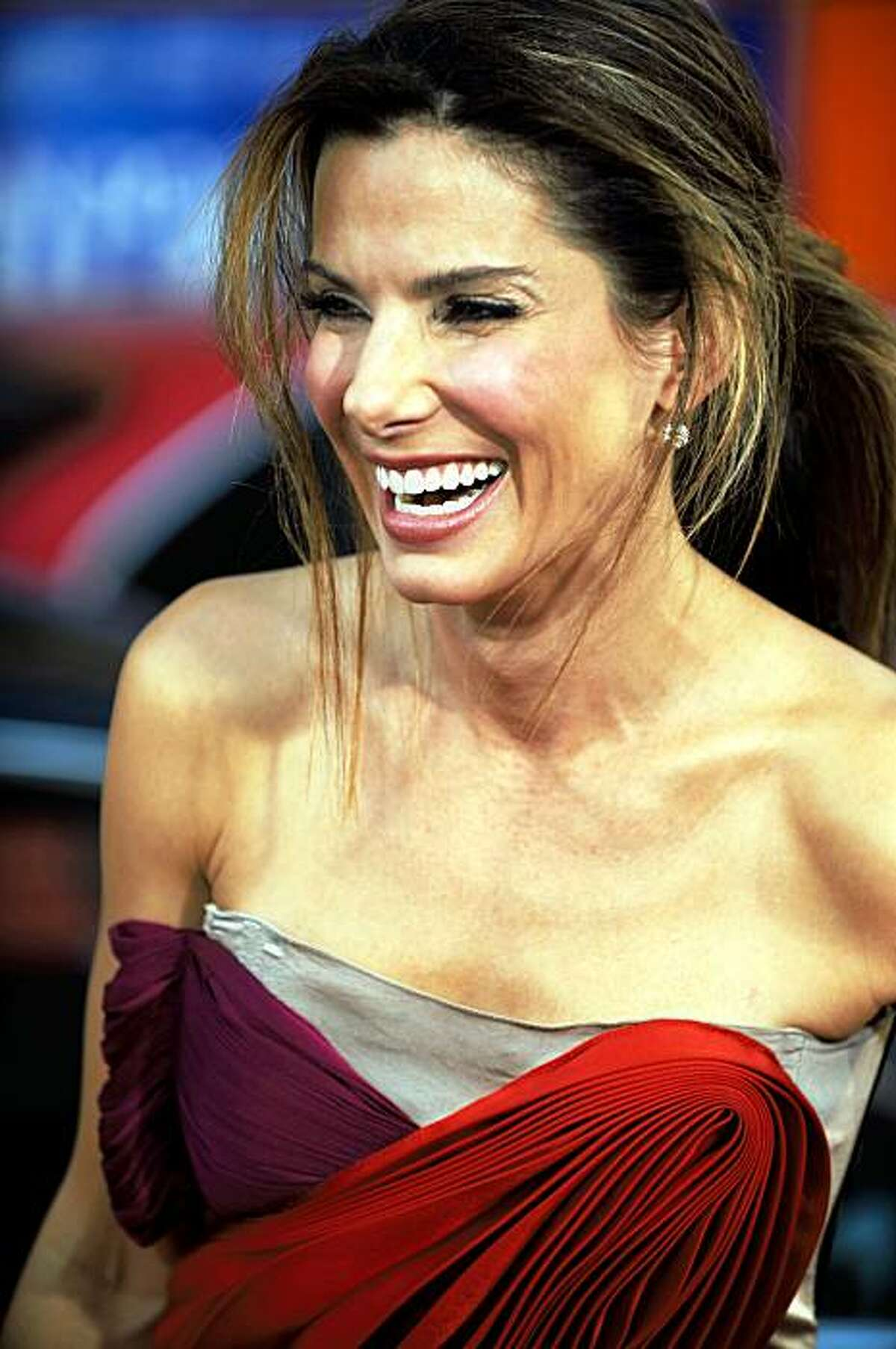 US actress Sandra Bullock arrives for the world premiere of