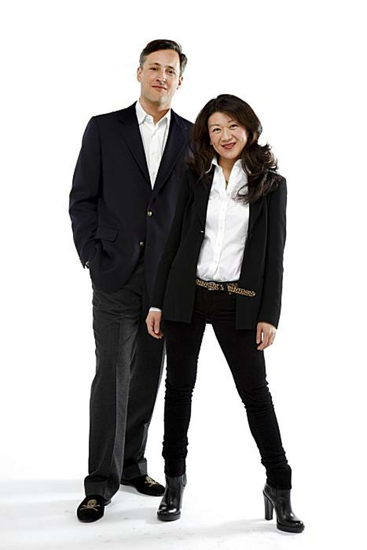 Matthew Grenby and Irene Chen of Lomoi, seen on Thursday, Jan. 6, 2011 in San Francsico, Calif., are in this week's Stylemaker Spotlight.