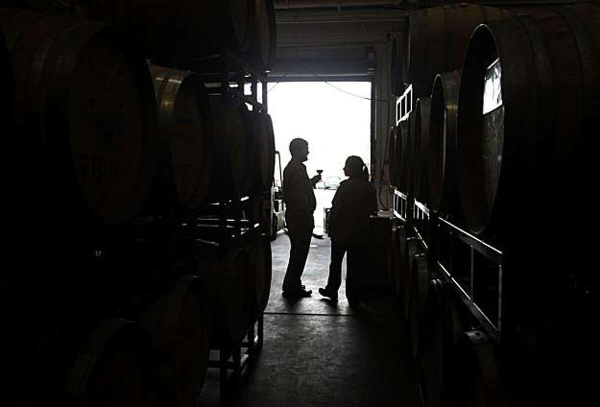 Tracey and Jared Brandt, owners of A Donkey and Goat Winery have been named winemakers to watch on Tuesday Dec. 7, 2010 in Berkeley, Calif.