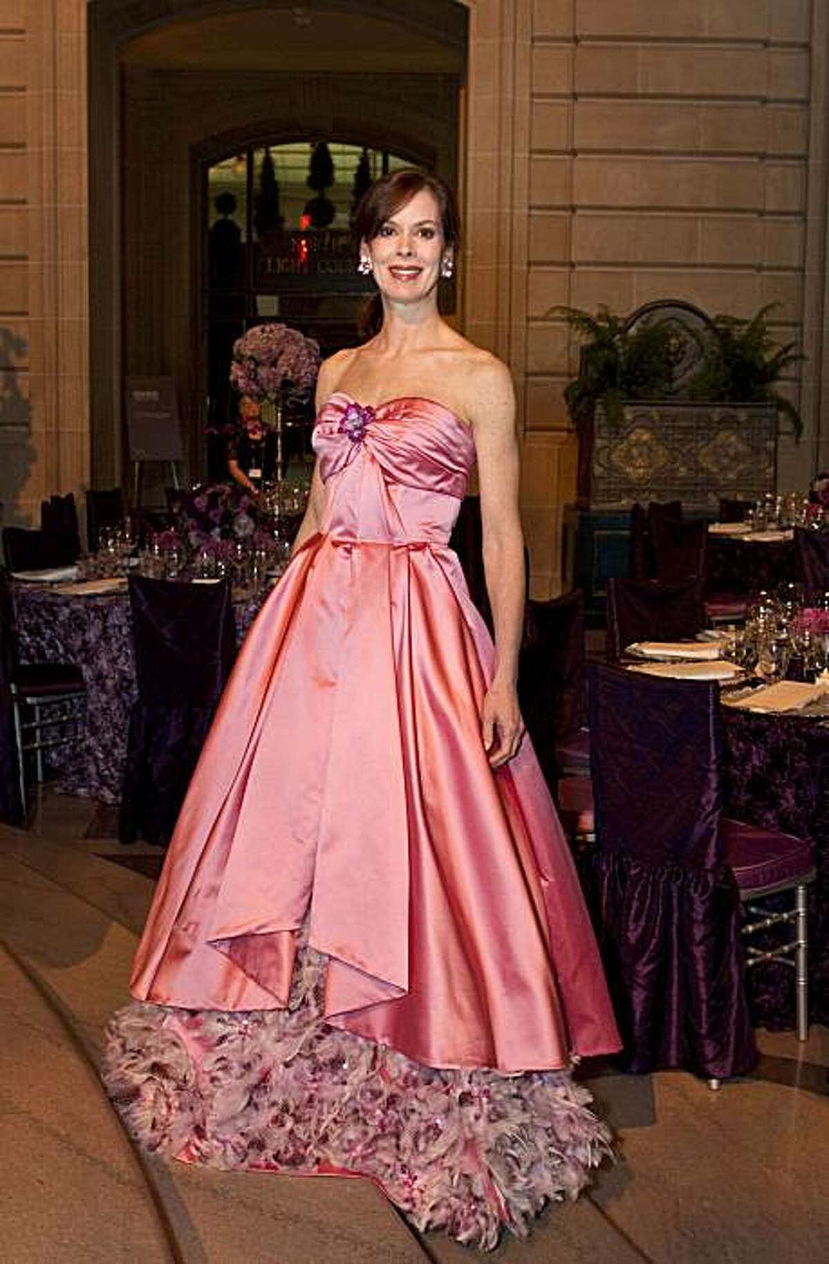 Stephanie Ejabat wears a gown by Norman Ambrose to the San Francisco Ballet 2011 Opening Night Gala at City Hall in San Francisco, Calif., on Wednesday, January 26, 2011.