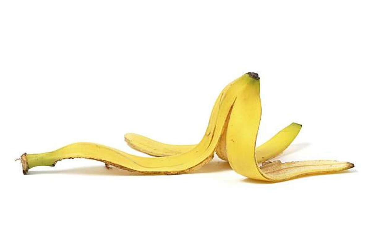 This banana peel may last longer than you'd expect in landfill.