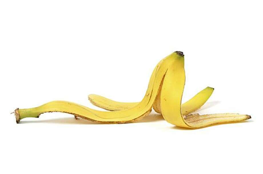 This banana peel may last longer than you'd expect in landfill. Photo: Andrzej Tokarski, IStockphoto.com