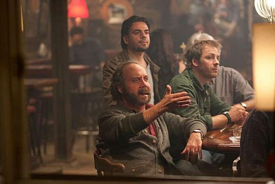 "Paul Giamatti as Barney in, ""Barney's Version."" Photo: Sabrina Lantos, Sony Pictures Classics"