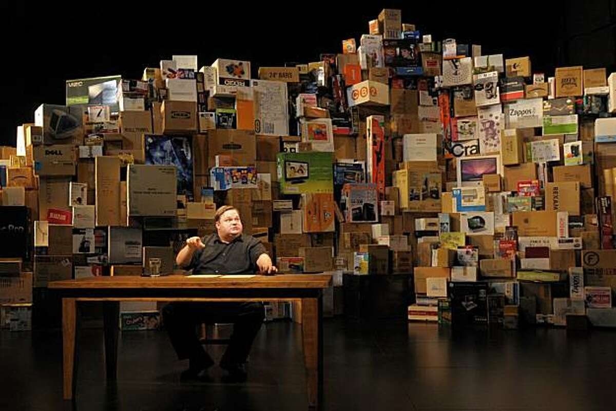 In The Last Cargo Cult at Berkeley Rep, master storyteller Mike Daisey spins an improbably true tale about our volcanic economy.