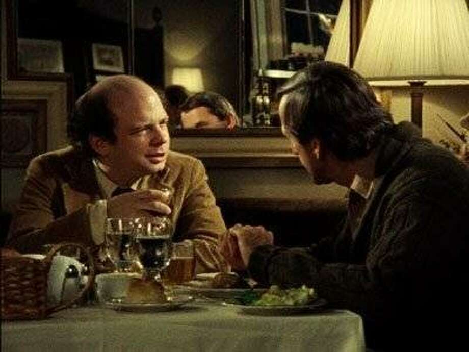 "Wallace Shawn (left) and Andre Gregory in ""My Dinner With Andre"" Photo: New Yorker Films 1981"