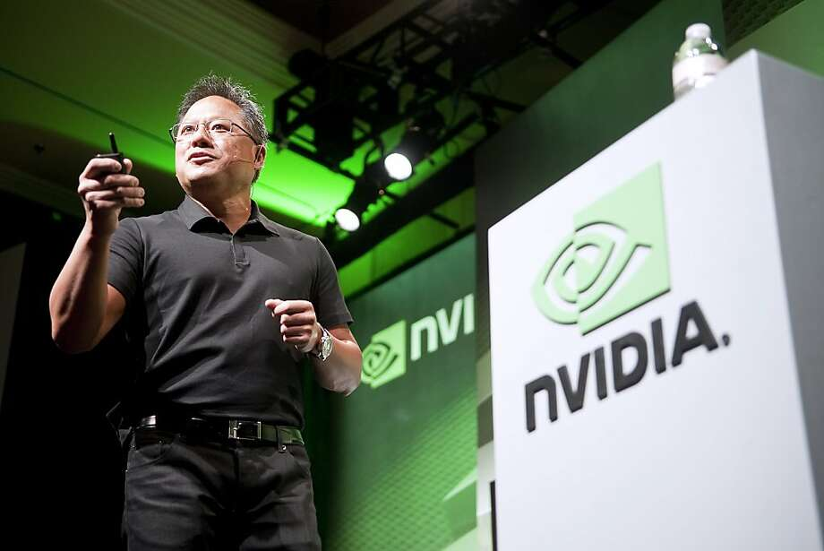 Jen-Hsun Huang, president, chief executive officer, and co-founder of Nvidia Corp., speaks during the 2011 International Consumer Electronics Show (CES) in Las Vegas, Nevada, U.S., on Wednesday, Jan. 5, 2011. Nvidia, the maker of chips for computer graphics cards, said LG Electronics Inc. will use its new Tegra 2 processor in the LG Optimus 2X smartphone. Photographer: Jacob Kepler/Bloomberg *** Local Caption *** Jen-Hsun Huang Photo: Jacob Kepler, Bloomberg