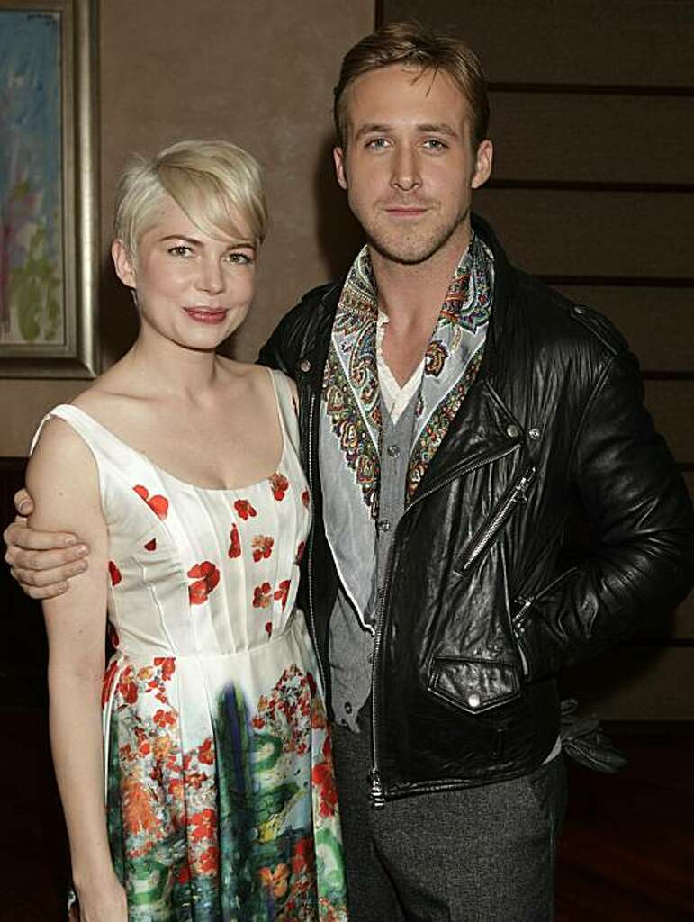 NEW YORK, NY   DECEMBER 5: Actress Michelle Williams And Actor Ryan Gosling  Attend