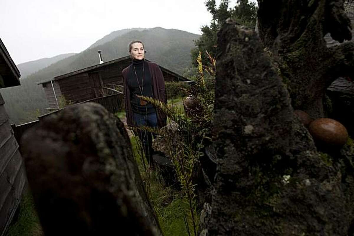 Leslie Williamson poses for a photograph at the J.B. Blunk house on December 19, 2010 in Inverness, Calif. Photograph by David Paul Morris/Special to the Chronicle