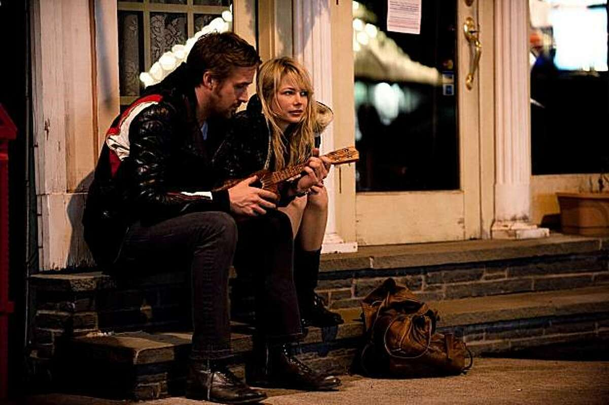 "Ryan Gosling and Michelle Williams star in, ""Blue Valentine."""