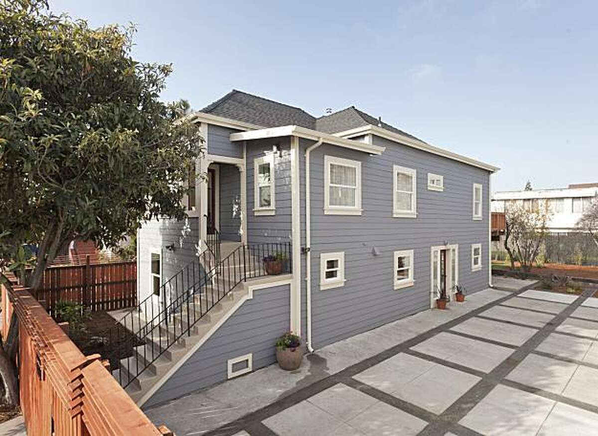 Built in 1916, 1474 32nd St. in Oakland, is a rehabbed two-story bungalow, now offered as a duplex with a main upper level and a lower level au pair suite. Total, the home has 2,300 square feet of living space. It's listed for $475,000.