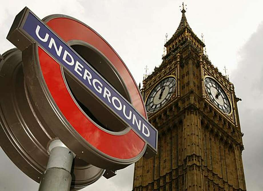 A London underground sign Photo: Luke MacGregor, Reuters