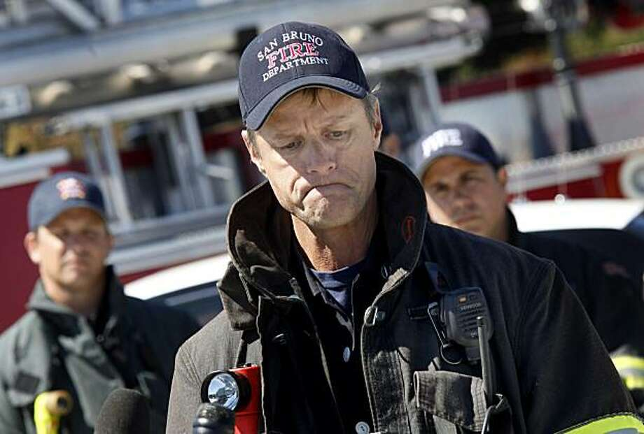 Captain Bill Forester of the San Bruno fire department, one of the first on the scene, was shocked when they discovered there was no water in the local hydrants. First responders to the San Bruno, Calif. pipeline explosion talked about their experiences Tuesday September 14, 2010. Photo: Brant Ward, The Chronicle